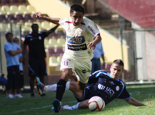 FECHA 18. León de Huánuco supo volver a su mejor juego en casa y derrotó por 3-1 a César Vallejo. (Foto: diario La Industria de Trujillo)