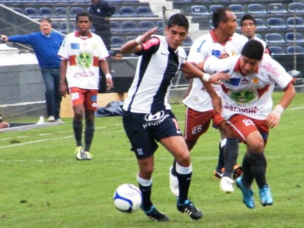 FECHA 20. Inti Gas no la pasaría nada bien en Matute y caería por 4-2 ante Alianza. (Foto: Wagner Quiroz / DeChalaca.com)