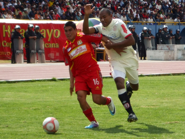 FECHA 20. Tras dos derrotas consecutivas, Sport Huancayo volvería a salir a flore tras imponerse por l mínima ante Universitario. (Foto: Diario Primicia de Huancayo)