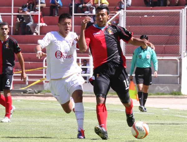 FECHA 22. Juan Aurich tuvo una visita complicada en Arequipa donde finalmente ganar un punto tras el empate 1-1 con Melgar. (Foto: diario El Pueblo de Arequipa)