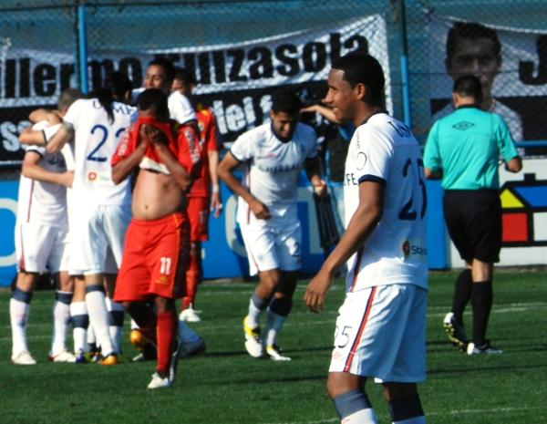 FECHA 23. Pese a realizar un buen cotejo, Sport Huancayo caería 2-1 ante San Martín.  (Foto: Abelardo Delgado / DeChalaca.com)