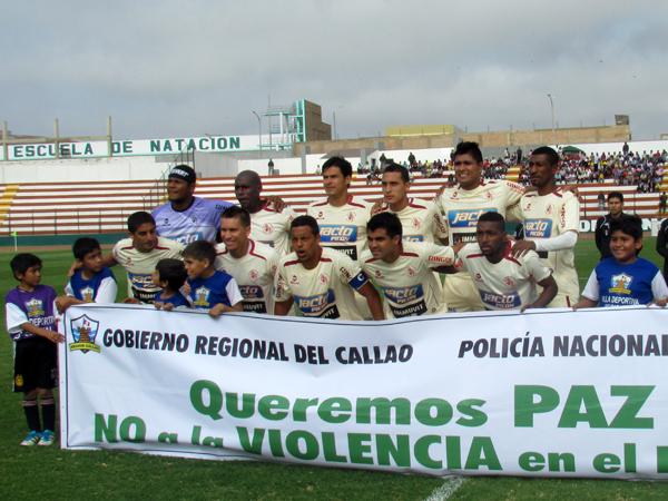 DIFÍCIL DE DOMAR. León de Huánuco lucha por el título y necesitaba un resultado positivo en el Callao. (Foto: José Salcedo / DeChalaca.com)