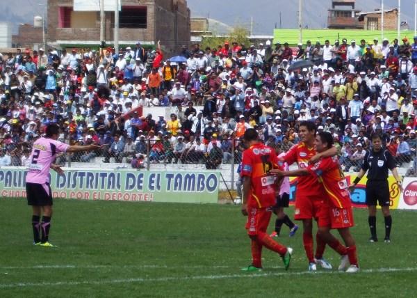 En su mejor campaña desde que está en Primera, Sport Huancayo exhibió un gran rendimiento en muchos partidos que al final lo llevaron a la Libertadores (Foto: Diario Primicia de Huancayo)
