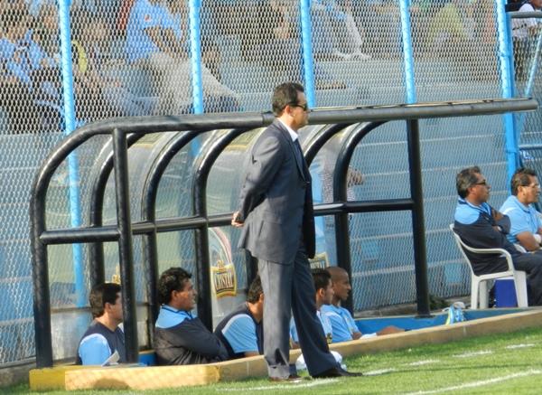 SIN RUMBO. La Era Reynoso en Sporting Cristal parece terminarse esta temporada. (Foto: Abelardo Delgado)