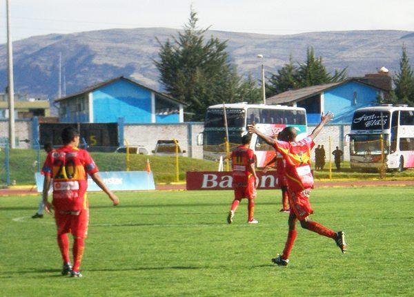 Si no fueran por los puntos en mesa, Sport Huancayo dependería de la San Martín para asegurar su clasificación a la Libertadores (Foto: diario Primicia de Huancayo)