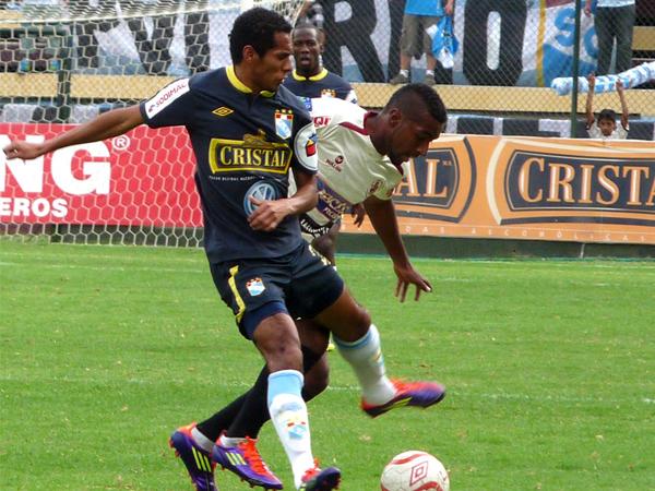 FECHA 29. Partido parejo en Huánuco. León no pudo con Sporting Cristal. (Foto: Jesús Suárez / DeChalaca.com)