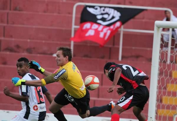 FECHA 29. Un gol de Aubert sobre el final le significó a Alianza su tercera derrota consecutiva. (Foto: Diario El Pueblo de Arequipa)