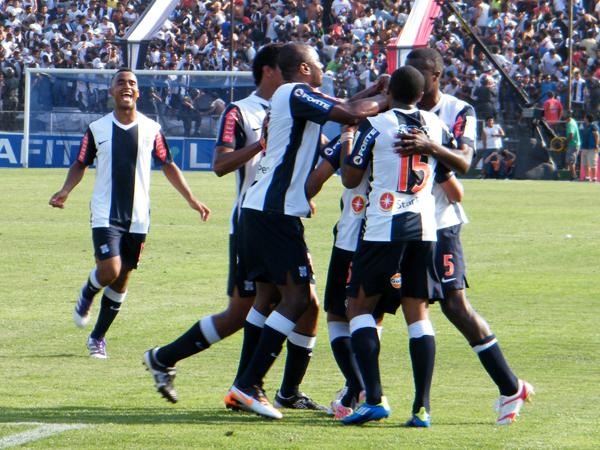FECHA 30. Alianza llegó entonado a la final tras derrotar con comodidad 3-0 al Boys en una gran actuación de Montaño. (Foto: Wagner Quiroz / DeChalaca.com)