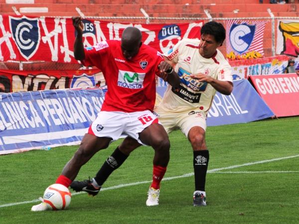 FECHA 30. Cerrando el campeonato, León de Huánuco cayó por la mínima diferencia ante Cienciano. El conjunto 'crema' finalmente accedió a la Copa Sudamericana 2012. (Foto: Orestes Santander)