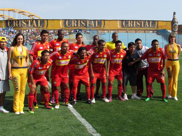CON LO MEJOR. Sport Huancayo con su mejor equipo en busca de acabar con un gran triunfo el campeonato. (Foto: José Salcedo / DeChalaca.com)