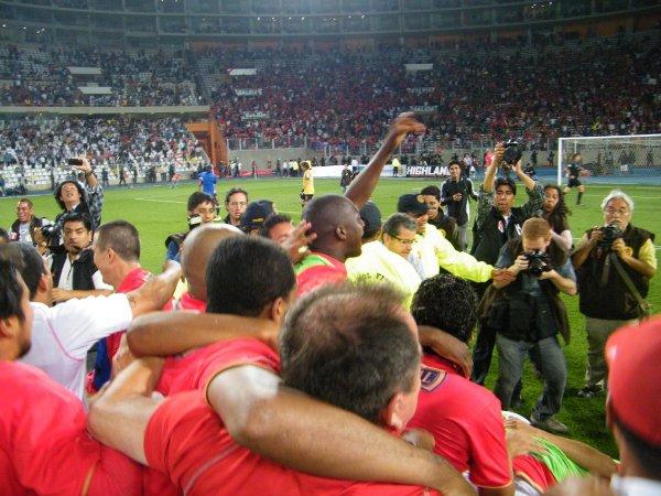 Tras el título de la Copa Perú 2007, Aurich se convirtió en animador del Descentralizado y logró consagrarse campeón en 2011 (Foto: archivo DeChalaca.com)