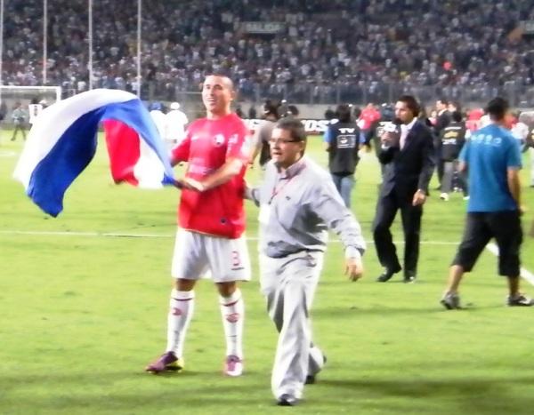 BUENA ÉDGAR. El paraguayo Balbuena fue uno de los mejores defensores en todo el año y ante Alianza se lució. (Foto: Wagner Quiroz / DeChalaca.com)
