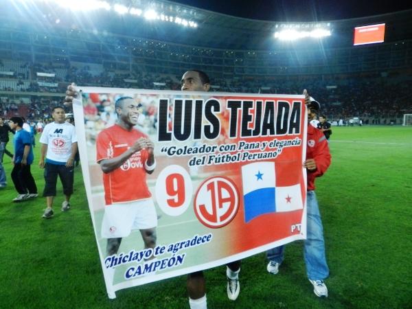 EL MEJOR. Luis Tejada es el goleador y el mejor jugador extranjero en el fútbol peruano. (Foto: José Salcedo / DeChalaca.com)