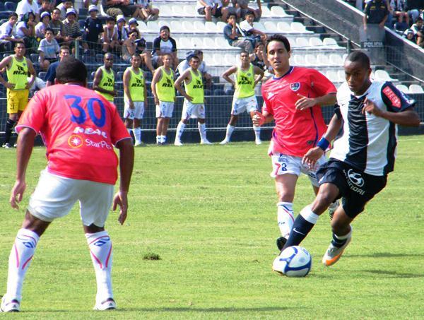 FECHA 01. Unión Comercio empezó con el pie izquierdo su debut en Primera División ante Alianza Lima en Matute. Cayó por goleada. (Foto: Wagner Quiroz / Dechalaca.com)