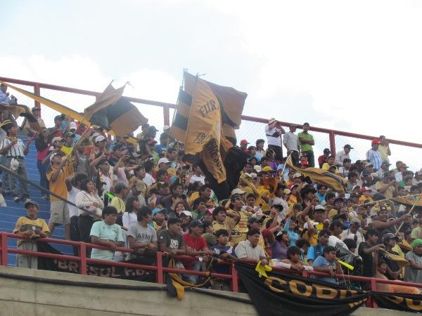 FECHA 01. Cobresol se estrenaba en Primera con un empate ante San Martín en el 25 de Noviembre. (Foto: Roice Zeballos)