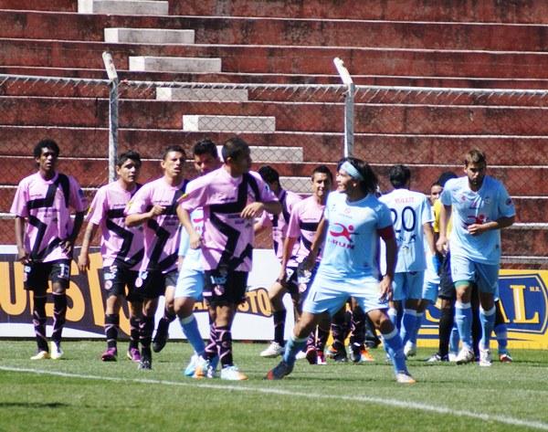 Real Garcilaso no tuvo fortuna de cara al gol y por primera vez en el Descentralizado cedió puntos en condición de local (Foto: José Carlos Angulo)