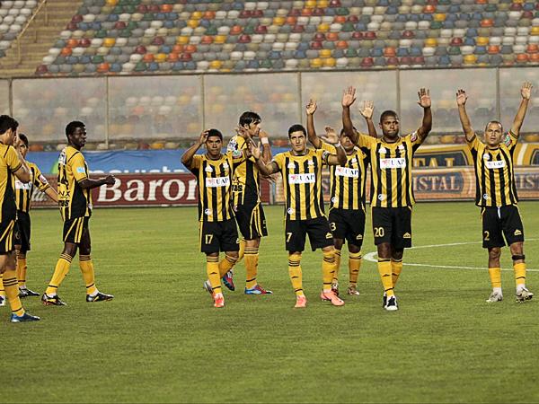 Cobresol tuvo una larga agonía en el campeonato con un descenso cantado desde las primeras jornadas (Foto: archivo DeChalaca.com)