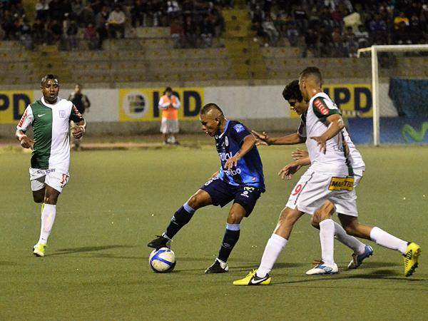 EL CAPO: No fue su mejor partido, pero lo de Johan Sotil contra Alianza le alcanzó para destacar en el Mansiche (Foto: diario La Industria de Trujillo)