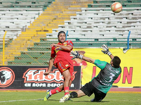 El 'Checho' Ibarra tiene más que asegurado el rótulo de goleador histórico del fútbol peruano pero aún tiene una cuenta pendiente con el cronómetro (Foto: Jhefryn Sedano)