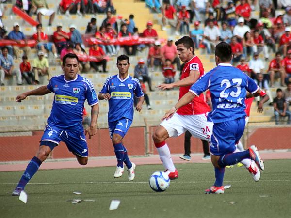 Quizás el número no fue el esperado, pero las tribunas del Elías Aguirre lucieron los colores del equipo de Chiclayo para celebrar el último triunfo del año (Foto: prensa Juan Aurich)
