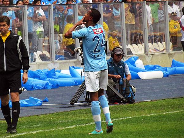 Juniors Ross maduró como futbolista con la camiseta celeste a la que le acabó por devolver la oportunidad con dos goles que valieron un título (Foto: José Salcedo / DeChalaca.com)
