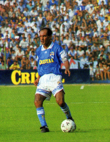Pedro Garay dejó una huella en el equipo celeste que no llegó a ser cubierta luego de dejar el equipo (Recorte: revista Don Balón Perú)