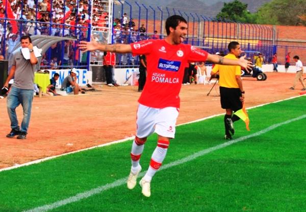 Germán Pacheco entró en el complemento y fue la solución a la falta de gol que tenía Juan Aurich (Foto: prensa Juan Aurich)