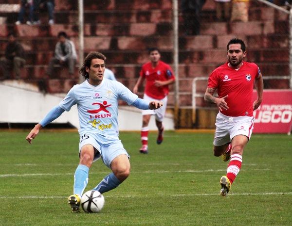 Montes se hizo presente en el inicio partido y le permitió a Real Garcilaso imponerse por la mínima ante Cienciano (Foto: José Carlos Angulo)