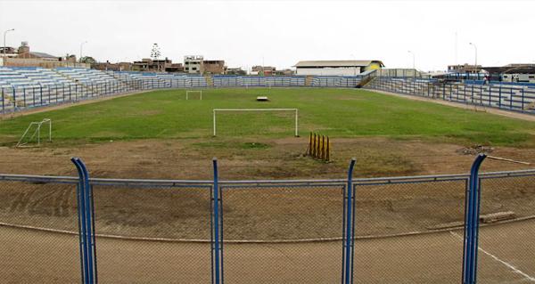 El estadio Iván Elías Moreno de Villa El Salvador tal cual luce en la actualidad (Foto: prensa Club Pacífico)