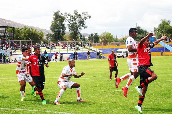 Melgar logró su tercer triunfo consecutivo en Ayacucho. (Foto: Ciro Madueño)