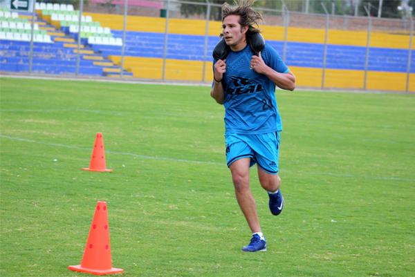 Sixto Ramírez llegó a Ayacucho para darle fuerza a una defensa que asoma como un punto debil de su equipo (Foto: Michael Carrión - Prensa Ayacucho F.C.)