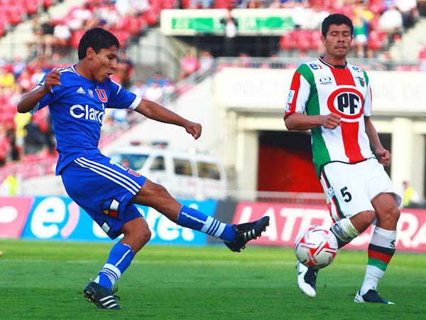 Ruidíaz no debe repetir lo de su primera experiencia internacional: debe sostenerse. (Foto: La Tercera)