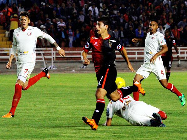 Melgar buscará ser efectivo para salir adelante en los dos torneos. (Foto: diario La Voz de Arequipa)