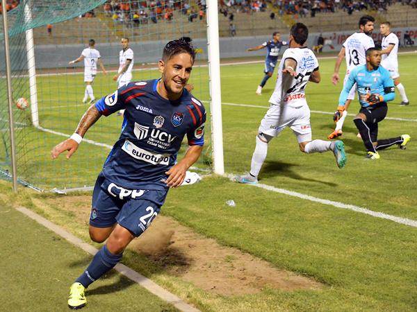 Hohberg demostró que puede ser titular en la Vallejo. (Foto: prensa Universidad César Vallejo)