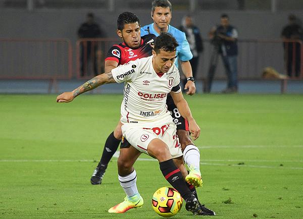 Guastavino tuvo un inicio de año goleador, pero luego se le apagó la mecha. (Foto: Raúl Chávarry / DeChalaca.com)