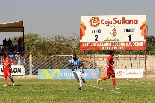 Aponzá volvió al gol tras 3 fechas. (Foto: diario El Tiempo de Piura)