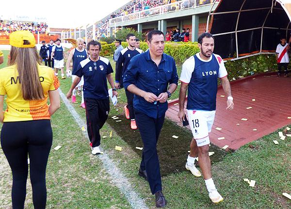 Zahzú se fue por la puerta trasera de Guaraní Antonio Franco. (Foto: Deportes Misiones)