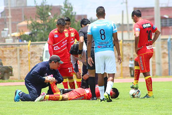 Víctor Peña fue una de las figuras de Sport Huancayo ante Alianza Atlético. (Foto: prensa Sport Huancayo)