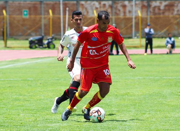 Blas López fue clave en la generación de los goles de Huancayo. (Foto: Ovación Digital)