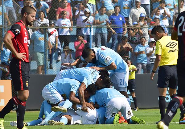 El último partido de Alarcón fue el Cristal - Melgar de las Series. (Foto: Raúl Chávarry / DeChalaca.com)