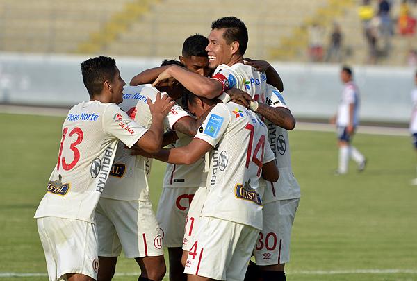 Rengifo anotó sobre el final tras otra acción que empezó gracias a un muy buen pase de Trauco. (Foto: La Industria de Trujillo)