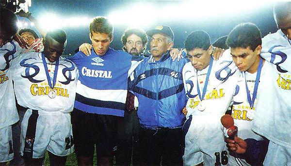 Aunque debutó en 1997, Leao Butrón formó parte de Sporting Cristal desde 1995. En consecuencia, ¿se le debe considerar campeón de esa temporada con los rimenses? (Foto: prensa Sporting Cristal)