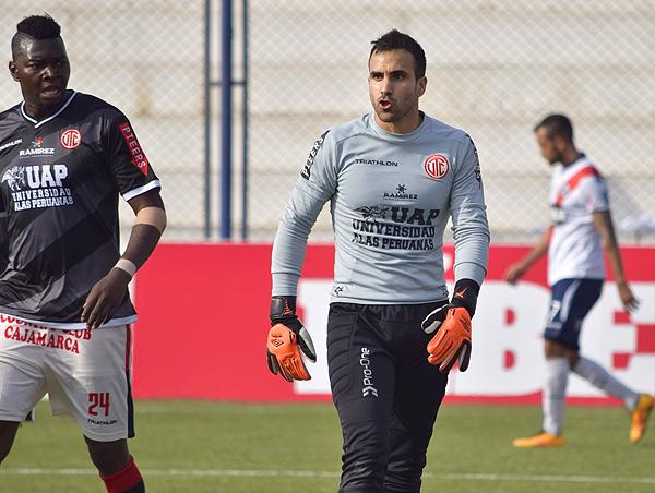 Carvallo repite temporada en UTC. (Foto: Raúl Chávarry / DeChalaca.com)