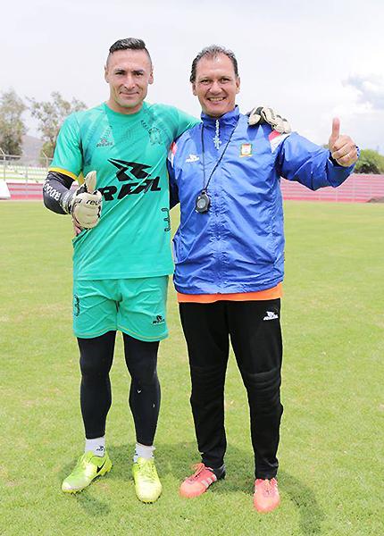 Mario Villasantti y Carlos Leeb son referentes de Ayacucho FC. En 2018 se mantendrán. (Foto: Michael Carrión / prensa Ayacucho FC)