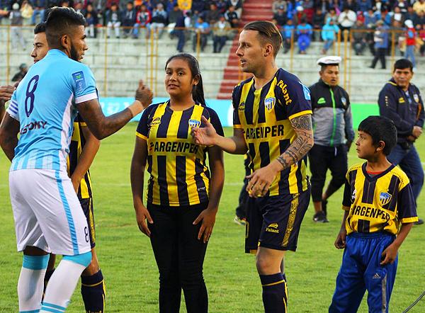 Ante Alianza Atlético fue la última vez que Lavandeira viste con camiseta de Rosario este 2017. (Foto: prensa Sport Rosario)