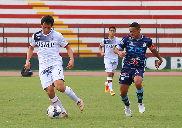 Real Garcilaso acabó el Apertura con un empate ante la San Martín, y tras el fallo del TAS, los cusqueños fueron los subcampeones de ese torneo. (Foto: prensa Universidad San Martín)