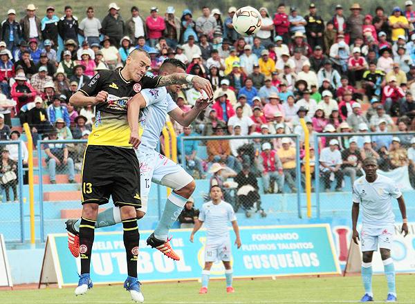 Gustavo Dulanto fue el jugador más destacado del Real Garcilaso - UTC. Su doblete lo avala (Foto: prensa Real Garcilaso)