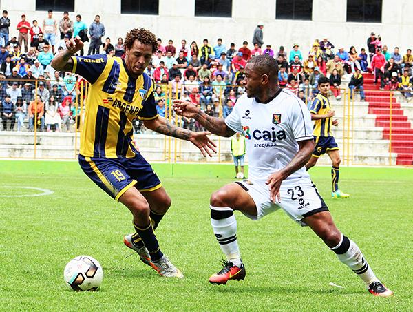Sport Rosario y Melgar no rompieron el cero en Huaraz (Foto: Visión Deportiva Huaraz)
