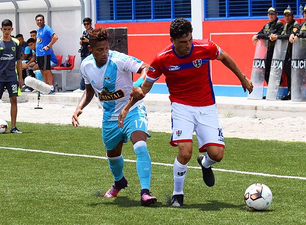 Mario Velarde fue una de las manijas de Unión Comercio en el empate ante Cristal (Foto: Emilio Ruiz)