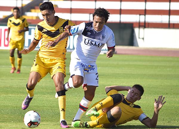 Cantolao pudo recuperarse al buen inicio de la San Martín, y así pudo ganar por primera vez en el Callao este 2017. (Foto: Raúl Chávarry / DeChalaca.com)